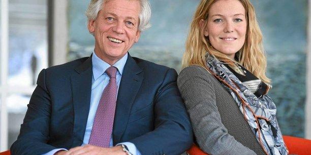 Éric et Pauline Duval sont père et fille à la ville.