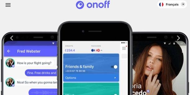 Onoff, qui est un opérateur mobile virtuel, mise sur une application dans le cloud pour séduire les clients.
