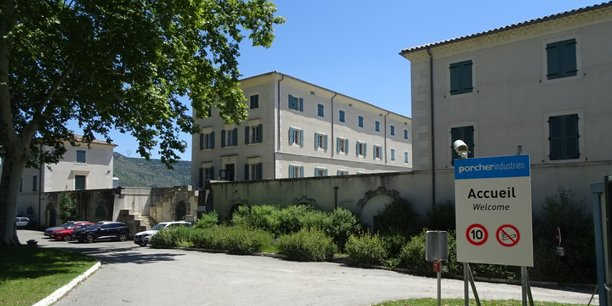 Le site de Porcher industries (ex Cordtech international), à Saint-Julien-en-Saint-Alban (Ardèche).