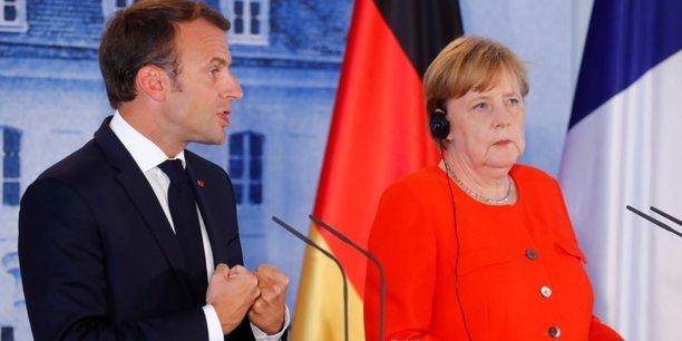 Macron et Merkel proposent d'établir un budget de la zone euro afin de promouvoir la compétitivité, la convergence et la stabilisation dans la zone euro, à partir de 2021.