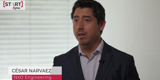 La start-up est présidée par Cesar Narvaez