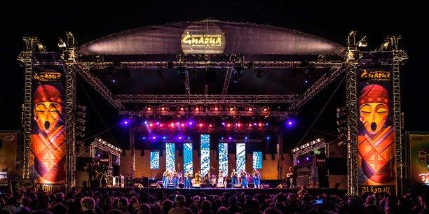 Concert d'ouverture du festival Gnaoua, résidence artistique Snarky Puppy avec Maâlem Hamid El Kasri.