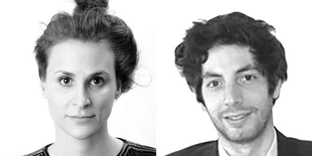 Laura Létourneau, responsable de l'unité Internet ouvert à l'Arcep, et Clément Bertholet, haut fonctionnaire.