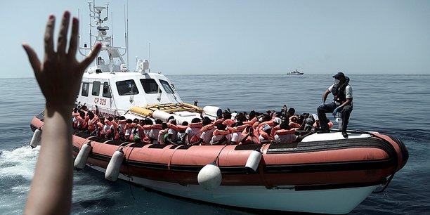 Le ministre de l'Intérieur italien Matteo Salvini avait refusé d'accueillir l'Aquarius, le navire qui avait secouru 629 migrants en mer Méditerranée.