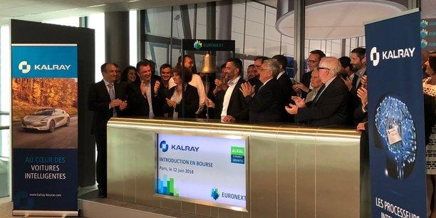 en 2018, la start-up grenobloise Kalray est entrée en Bourse.