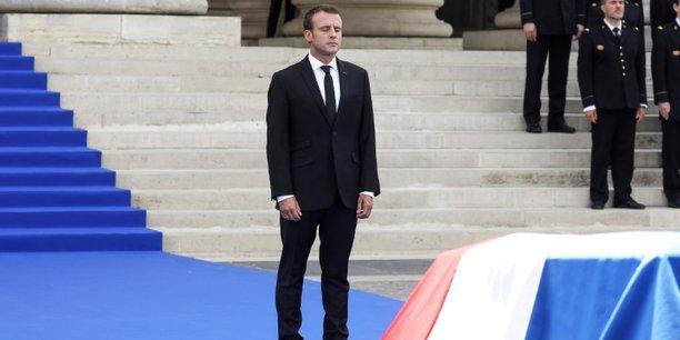 Emmanuel Macron a rendu hommage à Simone Veil, entrée ce 1er juillet 2018 au Panthéon avec André Veil, son époux pendant 67 ans, décédé en 2013.