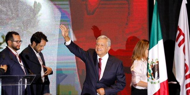 Andres Manuel Lopez Obrador a remporté l'élection présidentielle mexicaine avec 53,5% des suffrages ce dimanche 1er juillet 2018.