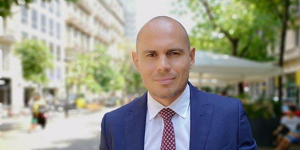Adrien Moreira, le cofondateur de la startup Bruce.