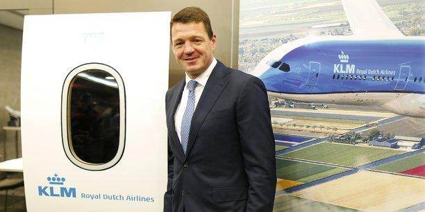 Pieter Elbers, président du directoire de KLM.