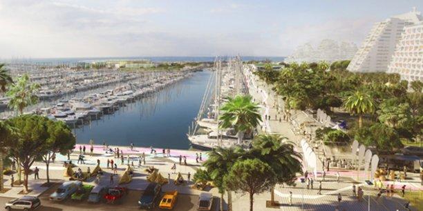 La nouvelle promenade de 1,5 km épousera les contours du port