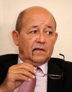 Le nouveau ministre de la Défense, Jean-Yves Le Drian Copyright Reuters