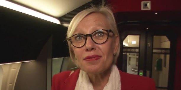 Selon Gwendoline Cazenave, directrice de l'axe TGV Atlantique à la SNCF, le nombre de voyageurs affaires a doublé en un an entre Bordeaux et Paris.