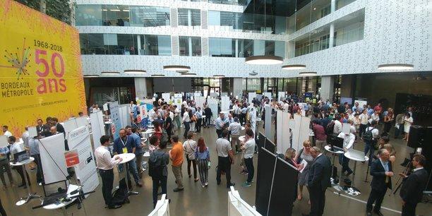 Bordeaux Technowest a réuni les 55 startups qu'il accompagne à Bordeaux Métropole ce mercredi 4 juillet.
