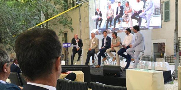 L'une des tables-rondes de Place à l'Entreprise, qui a attiré 1000 décideurs le 5 juillet au Mas Merlet de Nîmes