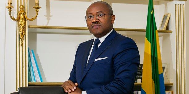 Jean-Fidèle Otandault, ministre d'Etat en charge du Budget et des Comptes publics.