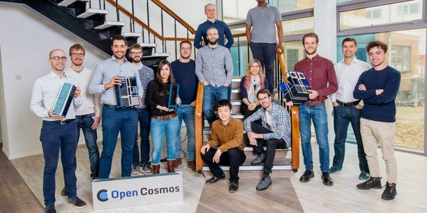 Open Cosmos compte 30 collaborateurs pour le moment.