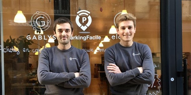 Tom Camin et Nicolas Masson avaient créé Parking Facile en 2014 à Bordeaux