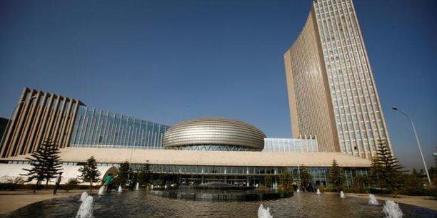 Siège de l'Union africaine à Addis-Abeba, où les nouveaux statuts de l'Agence de développement de l'UA seront présentés pour adoption au prochain Sommet en janvier 2019.