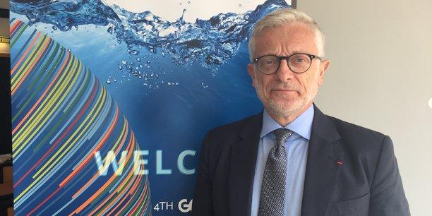 Philippe Brunet, Directeur de la Politique Spatiale et du Programme Copernicus de l'UE : « Avec 1 péta octet de données produites tous les 3 à 4 mois, Copernicus va bientôt devenir le premier producteur de données au monde, après Google ».