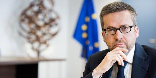 Carlos Moedas, commissaire européen à la recherche, la science et l'innovation est à la tête du programme Horizon Europe.