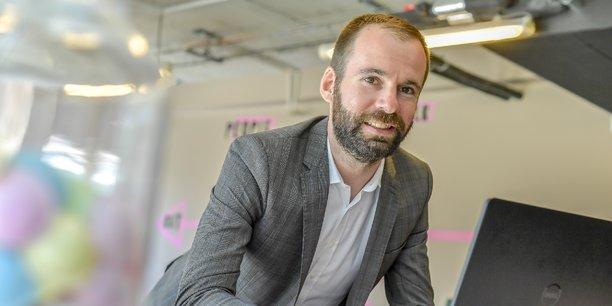 Fabien Assemat est le directeur de l'antenne d'Acensi de Bordeaux qui devrait compter 70 salariés à l'horizon 2020.