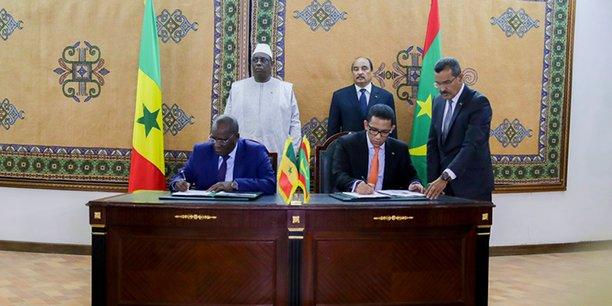 Au mois de février 2018, le Président Macky Sall et le Président Mohamed Ould Abdel Aziz se sont rencontrés à Nouakchott. Sous leur haut patronage les deux ministres du Pétrole ont signé l'accord de convention qui donne le feu vert à l'opérateur pour lancer les études.