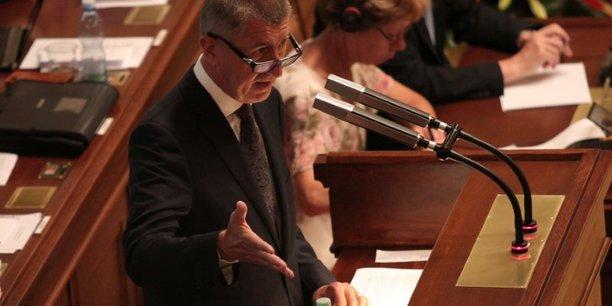 Le gouvernement tcheque obtient la confiance du parlement[reuters.com]