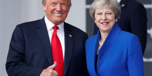 May veut renforcer les liens entre londres et washington[reuters.com]
