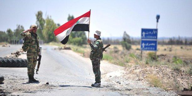 L'etat syrien s'apprete a hisser le drapeau sur la ville rebelle de deraa selon des temoins[reuters.com]