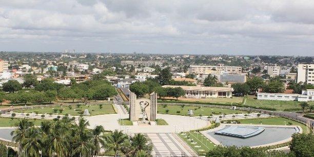Vue du quartier administratif de Lomé, la capitale togolaise.