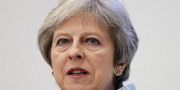 La Première ministre Theresa May doit faire face à l'hostilité d'une partie de son camp défavorable au plan de Chequers.