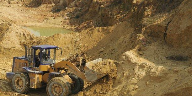 L'extraction de matières premières notamment ne cesse de croître.