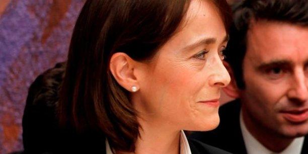 Delphine Ernotte, la presidente de France Télévisions.