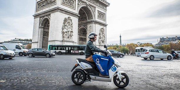 Cityscoot est leader à Paris, mais est challengé par Coup, une filiale de Bosch, déjà présent dans trois villes européennes.