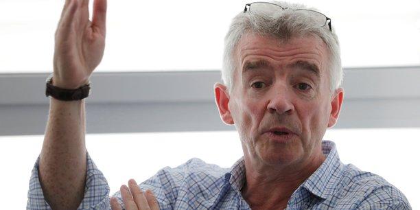 Michael O'Leary, le directeur général de Ryanair