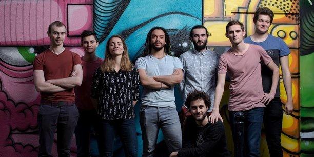 L'équipe de la startup bordelaise Knock, rebaptisée Where you love