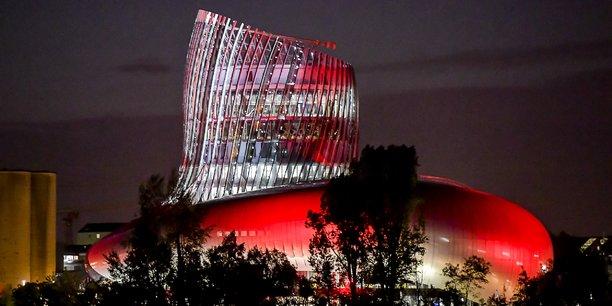 La Cité du vin de nuit