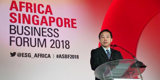 Png Cheong Boon, CEO de Enterprise Singapore.