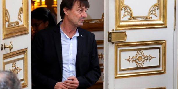 Nicolas Hulot, à Matignon, en décembre 2017.