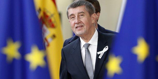 Le Premier ministre tchèque Andrej Babiš (ANO) n'a pas manqué de rappeler que 83 % des exportations tchèques étaient destinées à l'UE.