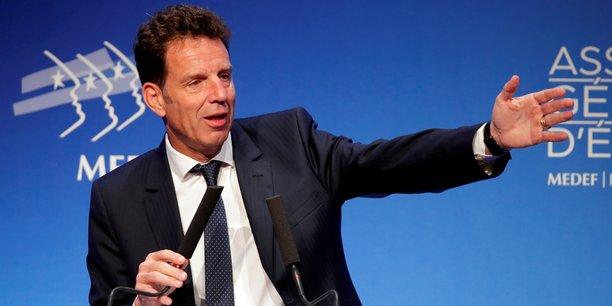 Geoffroy Roux de Bézieux a succédé à Pierre Gattaz à la tête de l'organisation patronale, le 3 juillet dernier.
