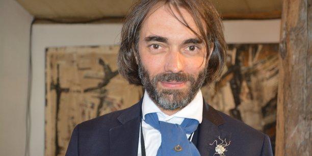 Le mathématicien et député LREM Cédric Villani à l'Université Hommes - Entreprises