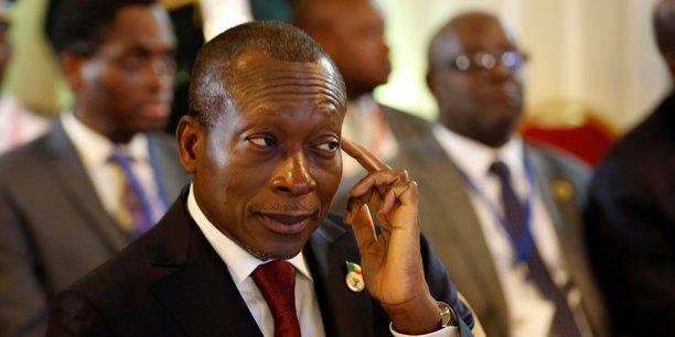 «Nous aurons désormais un parlement des riches et un président de la République hyper puissant... Cela met à mal l'unité nationale», déplore l'opposition au sujet de la réforme du Code électoral. Ici Patrice Talon, président de la république du Bénin.