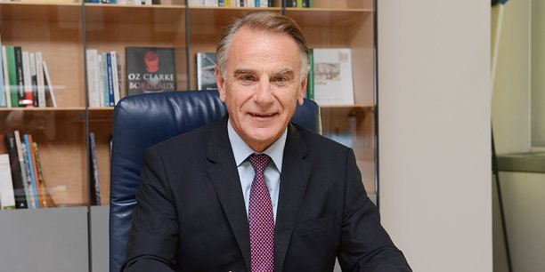 Jack Bouin, directeur général du Crédit agricole d'Aquitaine