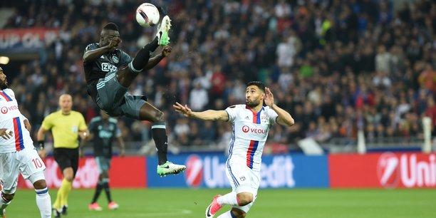 Nabil Fékir avec l'Olympique Lyonnais.