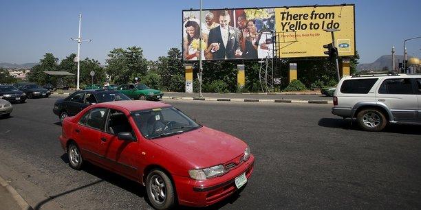 Une publicité pour MTN au Nigéria.