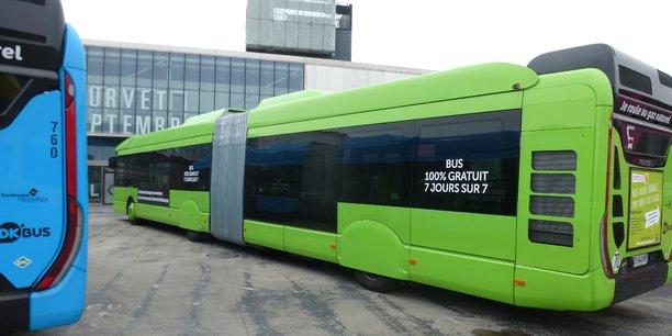 Le projet d'accès à la gratuité du réseau dunkerquois impressionne par son ampleur : 17 lignes de bus irriguent toute la métropole et ses 200.000 habitants.