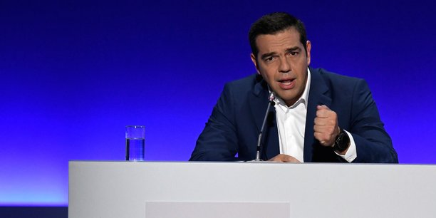 Alexis Tsipras, Premier ministre grec.