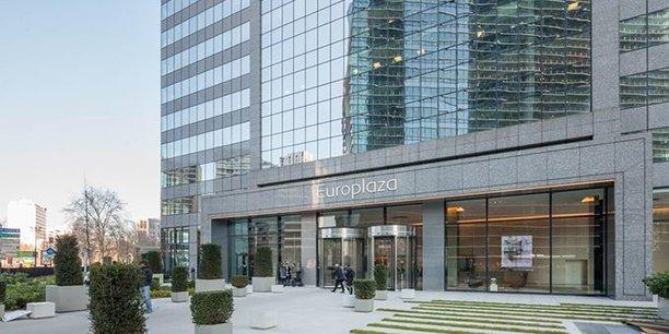La tour Europlaza à La Défense, où s'installera l'Autorité bancaire européenne, héberge déjà BforBank, la banque en ligne du Crédit Agricole.