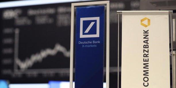 Selon le magazine allemand Spiegle, le ministre allemand des Finances, Olaf Scholz, se serait dit prêt à envisager un rapprochement entre Commerzbank et Deutsche Bank.